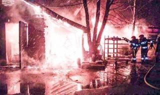 Podpalacz grasuje w gminie Skierniewice? Strażacy walczyli z kolejnym dużym pożarem